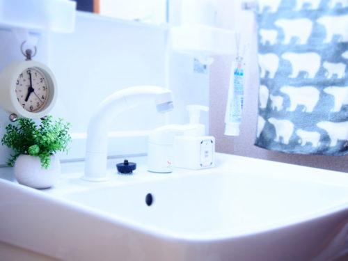 洗面台の収納アイデア☆100均やアイデアグッズで清潔に使いやすく。