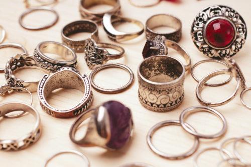 ハンドメイド指輪に欠かせないリング台☆指輪金具の種類まとめ