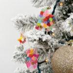 クリスマスは子どもの手作り品で飾り付け☆メルトビーズオーナメントの作り方