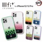 鬼滅の刃 イーフィット Clear iphone対応ケース