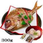 お食い初め 鯛 はまぐり セット 300g 山形県産 天然 真鯛