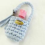 可愛い小物で差をつけよう♪Tシャツヤーンで手ピカジェルケースの作り方・編み方