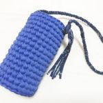 Tシャツヤーンでおしゃれ♪かぎ針編みで作る水筒カバーの作り方