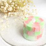 紙コップで簡単に出来る!マーブル模様なモザイクキャンドルの作り方
