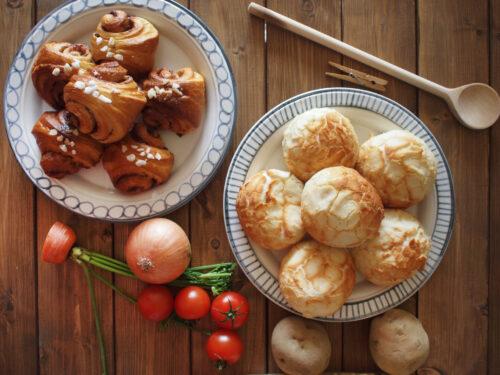 朝食に焼き立てパンを♡パン生地の保存の仕方と簡単アレンジパン