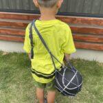 簡単手作りボール入れ☆子供でも作れる便利なボールバッグの作り方