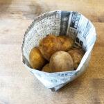 野菜を保存する紙袋にも◎新聞紙で作る簡単で丈夫なゴミ箱の折り方作り方